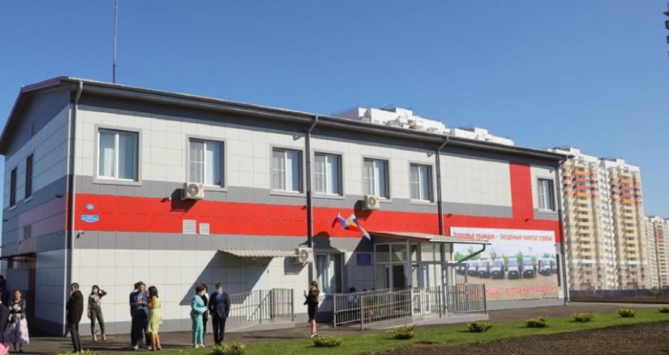 Здание скорой помощи в ЖК Суворовский Ростов-на-Дону