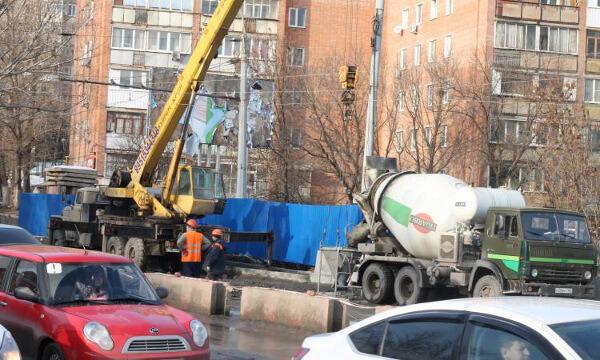 Реконструкция моста на Шеболдаева