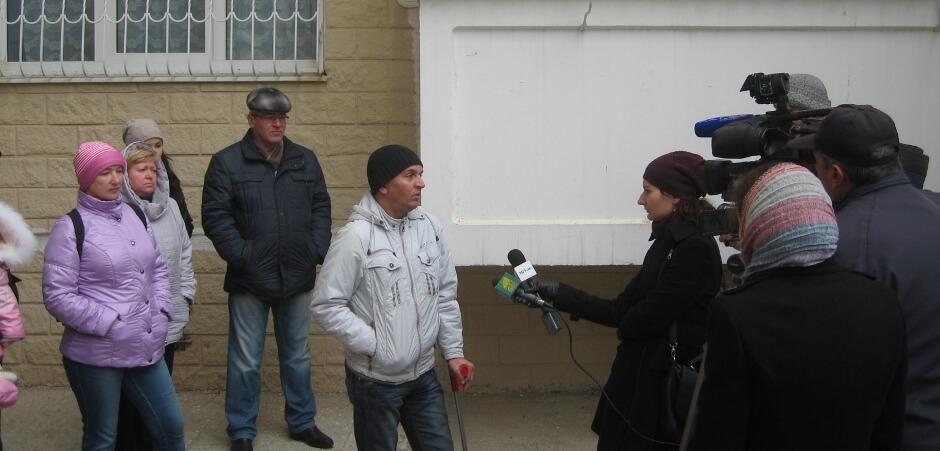Встреча с корреспондентами